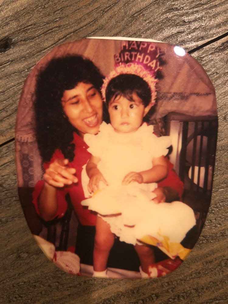 latinx mother and daughter birthday